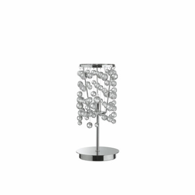 Ideal Lux - Luxury - NEVE TL1 - Table lamp - Chrome - LS-IL-033945