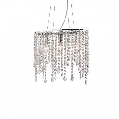 Ideal Lux - Luxury - RAIN SP3 - Pendant lamp - Chrome - LS-IL-008349