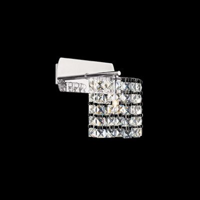 Ideal Lux - Luxury - SPIRIT AP1 - Wall lamp - Chrome - LS-IL-068350