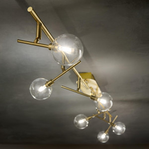 Ideal Lux -  - Maracas PL6 LED - Modern ceiling lamp with six lights