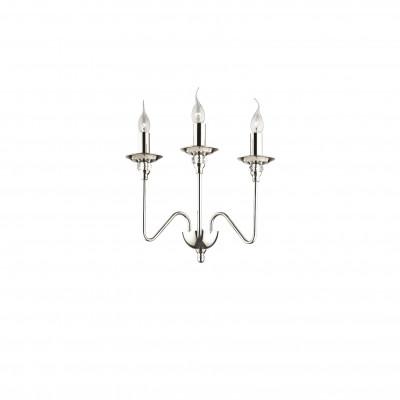 Ideal Lux - Middle Ages - ARTU' AP3 - Applique - Chrome - LS-IL-073118