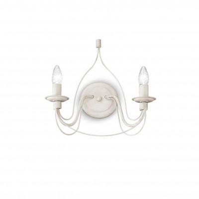 Ideal Lux - Middle Ages - CORTE AP2 - Applique - Antique white - LS-IL-028460