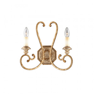 Ideal Lux - Middle Ages - Cortina AP2 - Two-lights applique with antiqued effect