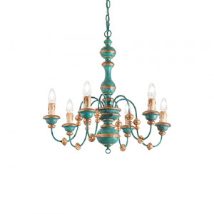 Ideal Lux - Middle Ages - Pisa SP6 - Pendant lamp