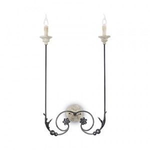 Ideal Lux - Middle Ages - Volterra AP2 - Wall lamp