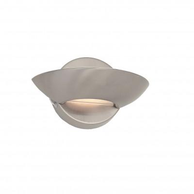 Ideal Lux - Minimal - LUMINA AP1 - Applique - Satin-finished nickel - LS-IL-002491