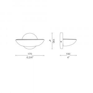 Ideal Lux - Minimal - LUMINA AP1 - Applique