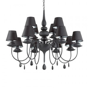 Ideal Lux - Noblesse Oblige - Blanche SP12 - Classic chandelier with twelve lampshades