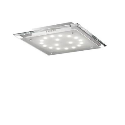 Ideal Lux - Office - PACIFIC PL18 - Ceiling lamp - Transparent - LS-IL-074221