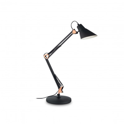 Ideal Lux - Office - SALLY TL1 - Office lamp - Black - LS-IL-061160