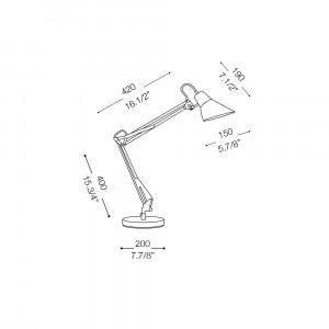 Ideal Lux - Office - SALLY TL1 - Office lamp
