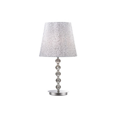Ideal Lux - Organza - LE ROY TL1 BIG - Table lamp - Chrome - LS-IL-073408