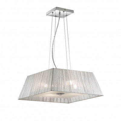 Ideal Lux - Organza - MISSOURI SP4 - Pendant lamp - Silver - LS-IL-035932