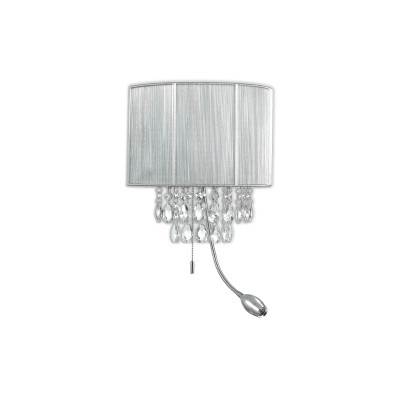Ideal Lux - Organza - OPERA AP3 - Applique - Silver - LS-IL-122588