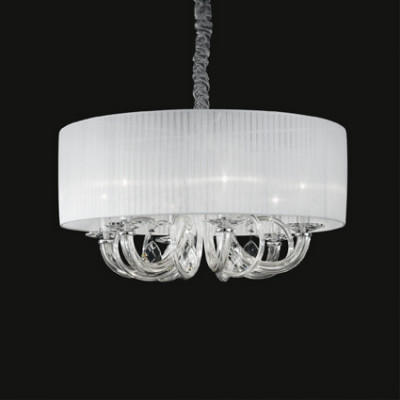 Ideal Lux - Organza - SWAN SP6 - Pendant lamp - White - LS-IL-035826