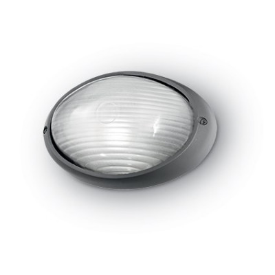 Ideal Lux - Outdoor - MIKE-50 AP1 SMALL - Applique - Anthracite - LS-IL-061788