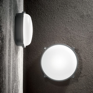 Ideal Lux - Outdoor - Morgan AP1 Small - Wall lamp