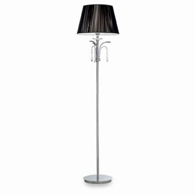 Ideal Lux - Provence - ACCADEMY PT1 - Floor lamp - Chrome - LS-IL-026039
