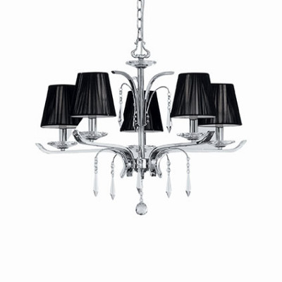 Ideal Lux - Provence - ACCADEMY SP5 - Pendant lamp - Chrome - LS-IL-020600