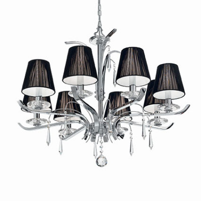 Ideal Lux - Provence - ACCADEMY SP8 - Pendant lamp - Chrome - LS-IL-020594