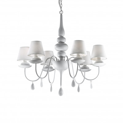 Ideal Lux - Provence - BLANCHE SP6 - Pendant lamp - White - LS-IL-035581