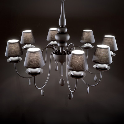 Ideal Lux - Provence - BLANCHE SP8 - Pendant lamp