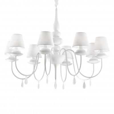 Ideal Lux - Provence - BLANCHE SP8 - Pendant lamp - White - LS-IL-035574
