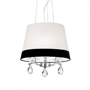 Ideal Lux - Provence - Domus SP3 - Pendant lamp with bicoloured lampshade