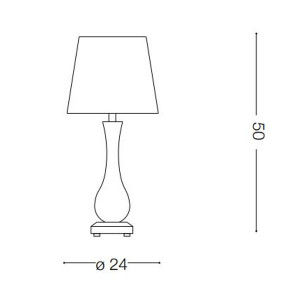 Ideal Lux - Provence - LILLY TL1 - Table lamp