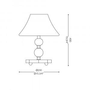 Ideal Lux - Provence - MAGIC-20 TL1 MINI - Bedside lamp