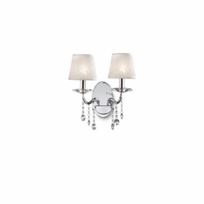 Ideal Lux - Provence - SENIX AP2 - Applique - Chrome - LS-IL-032573