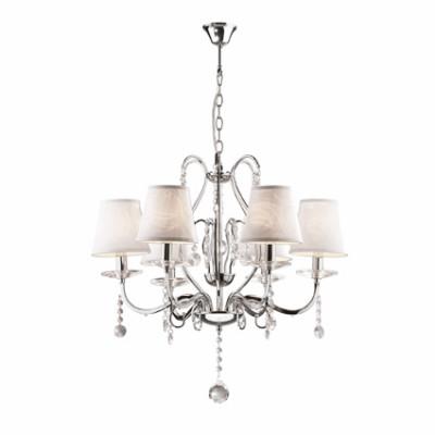 Ideal Lux - Provence - SENIX SP6 - Pendant lamp - Chrome - LS-IL-032597