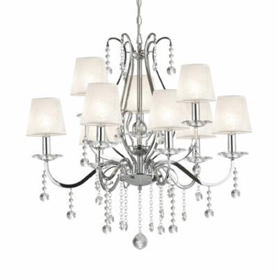 Ideal Lux - Provence - SENIX SP9 - Pendant lamp - Chrome - LS-IL-032610