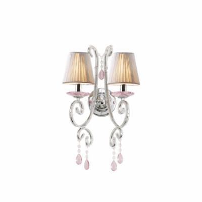 Ideal Lux - Provence - VIOLETTE AP2 - Applique - Silver - LS-IL-015446