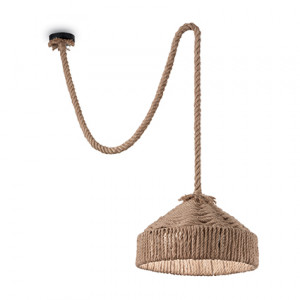 Ideal Lux - Rustic - Canapa SP1 - Pendant lamp