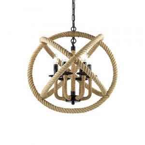 Ideal Lux - Rustic - Corda SP6 - Pendant lamp