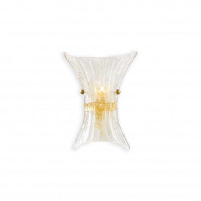 Ideal Lux - Rustic - FIOCCO AP1 SMALL - Applique - Amber - LS-IL-014623