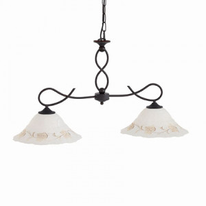 Ideal Lux - Rustic - FOGLIA BI2 SMALL - Pendant lamp