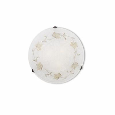 Ideal Lux - Rustic - FOGLIA PL3 D50 - Ceiling - Amber - LS-IL-013817