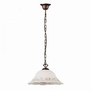 Ideal Lux - Rustic - FOGLIA SP1 D40 - Pendant lamp