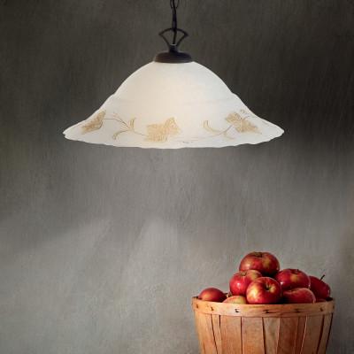 Ideal Lux - Rustic - FOGLIA SP1 D50 - Pendant lamp