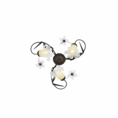 Ideal Lux - Rustic - TIROL PL3 - Ceiling lamp - Rust - LS-IL-024509