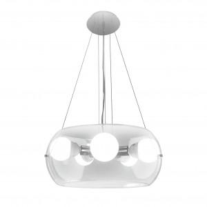 Ideal Lux - Sfera - AUDI-10 SP5 - Pendant lamp - Chrome - LS-IL-016863