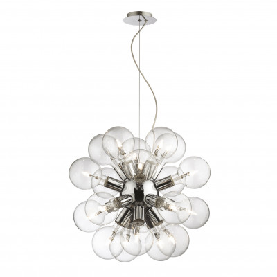 Ideal Lux - Sfera - DEA SP20 - Pendant lamp - Chrome - LS-IL-074801