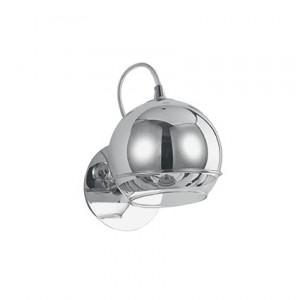 Ideal Lux - Sfera - Discovery AP1 - Chrome applique with glass diffuser - Chrome - LS-IL-082424