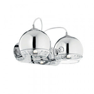 Ideal Lux - Sfera - Discovery AP2 - Chrome applique with two lights - Chrome - LS-IL-082431