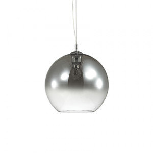 Ideal Lux - Sfera - Discovery Fade SP1 D30 - Pendant lamp - Gradient chrome - LS-IL-149592