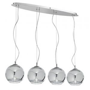 Ideal Lux - Sfera - DISCOVERY SB4 BIG - Pendant lamp - Chrome - LS-IL-074955