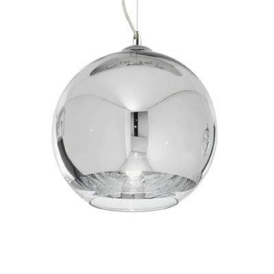 Ideal Lux - Sfera - DISCOVERY SP1 D30 - Pendant lamp - Chrome - LS-IL-059648