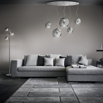 Ideal Lux - Sfera - DISCOVERY SP5 - Five-light suspension lamps